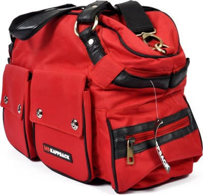 Kappsack Kappsack Mama Bag with Changing Mat Baby Diaper Bag(Red)