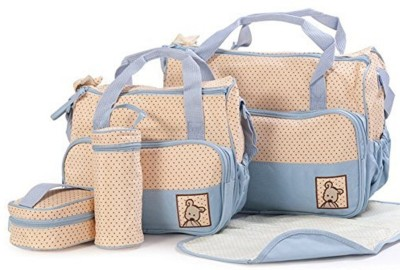 Mother Diaper Tote Handbag Shoulder Bag Baby Nappy Changing Bag Set