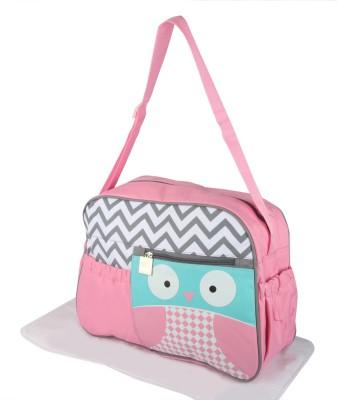 Offspring Outing Mama Shoulder Messenger Diaper Bag(Pink, White, Grey, Blue)