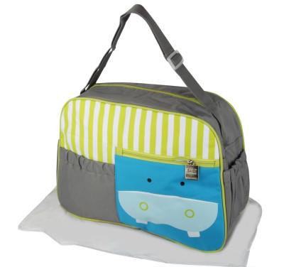 Offspring Outing Mama Shoulder Messenger Diaper Bag(Grey, Green, Blue, White)