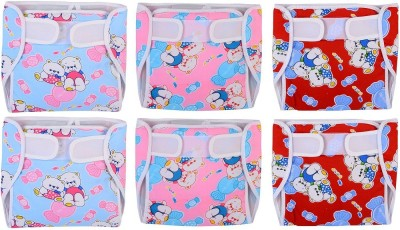 Chhote Janab BABY RESUABLE DIAPER NAPPY  PACK OF 6  Chhote Janab Nappy