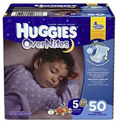 Huggies Overnites Diapers - M(50 Pieces) at flipkart