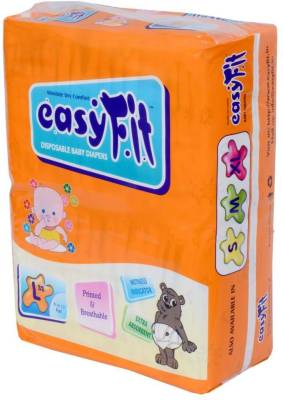 Easyfit Disposable Baby Diapers - Large (3 Pieces)