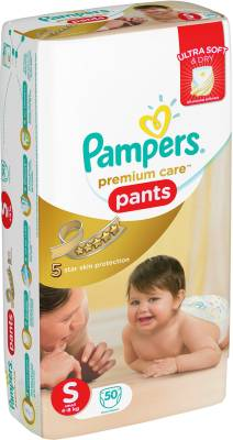 Pampers Premium Care Pants Diapers - Small