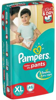 Pampers Pants Diapers - Extra Large