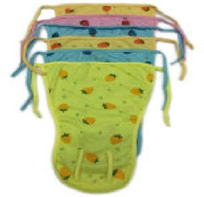 JTC2015 Spicy Style Baby Soft Cloth Diapper - M(6 Pieces)