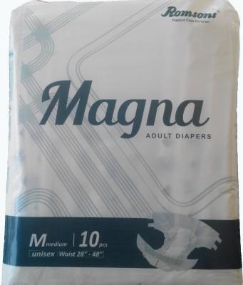 Romsons Magna Adult Diaper Disposable Diapers - M(10 Pieces)