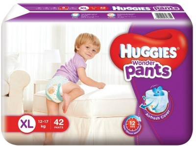 Huggies Wonder Baby Pants XL Diapers (42 Pieces)