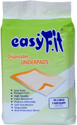 Easy Fit Disposable Underpads - L(10 Pieces)