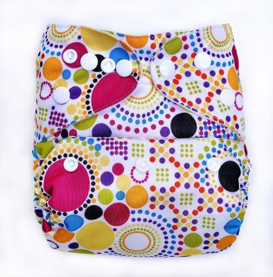 Bumberry Diaper Cover (Retro Print) - New Born(2 Pieces)
