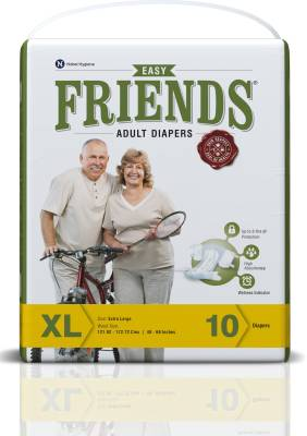 Friends Easy - Extra Large (10 Pieces)