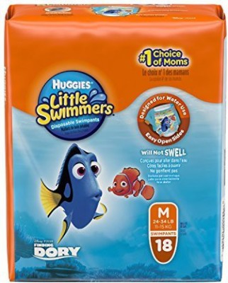 Huggies Little Swimmers Disposable Swim Pants - M(72 Pieces) at flipkart