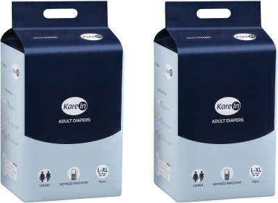 Karein Kare In Adult Diapers   L 2 Pieces