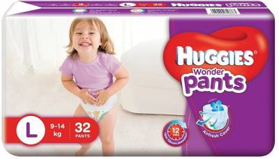 HUGGIES WONDER PANTS - LARGE