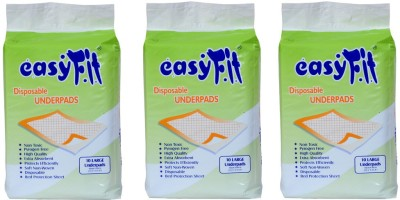 Easy Fit Disposable Underpads - L(3 Pieces)