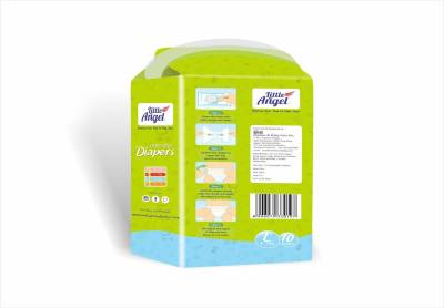 Little Angel Extra Dry Diapers - L, Large