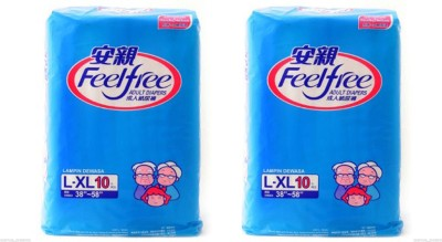 Feel Free Adult Diapers - L(20 Pieces)