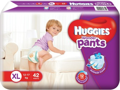 Huggies Wonder Baby Pants Diapers, XL 42 Pieces