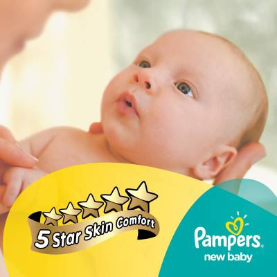 Pampers New Baby Diapers - NB - Small