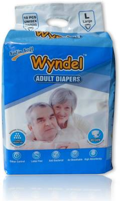 Wyndel Adult Diapers Combo of 8 Packets - Large