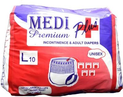 Medi Plus Premium Incontinence 3 Adult Diapers - New Born(10 Pieces)