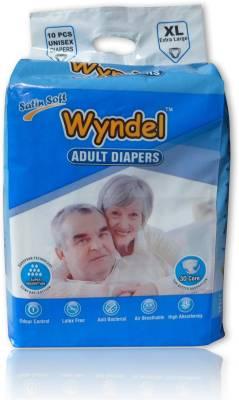 WYNDEL ADULT DIAPERS COMBO OF 4 PACKETS - XL