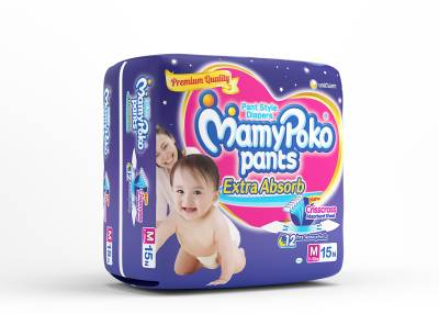 Mamy Poko Premium - Extra Absorb - Medium