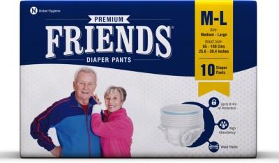 Friends Premium Pant Diapers - M(10 Pieces)