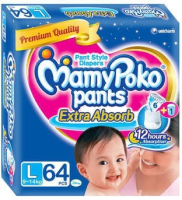 MamyPoko Pant Style Diaper   L 64 Pieces