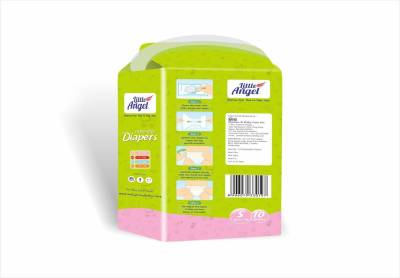 Little Angel Extra Dry Diapers combo of 3 - New Born