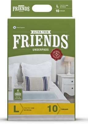 Friends Ultrathin Cloth Diaper - L(10 Pieces)
