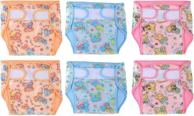 Chhote Janab BABY PLASTIC TOWEL NAPPY DIAPER - MEDIUM