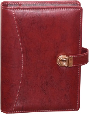 Indigo Creatives A5 Diary(Business Planner Organiser - Ladies Elegante, Red)  available at flipkart for Rs.797