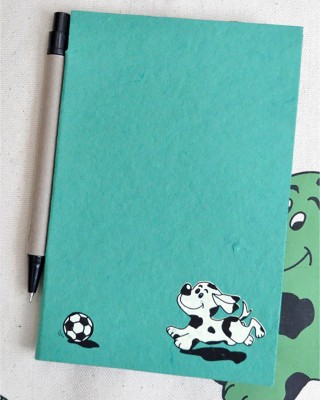 Haathi Chaap Mini Note Pad(Recycled Handmade, Multicolor)