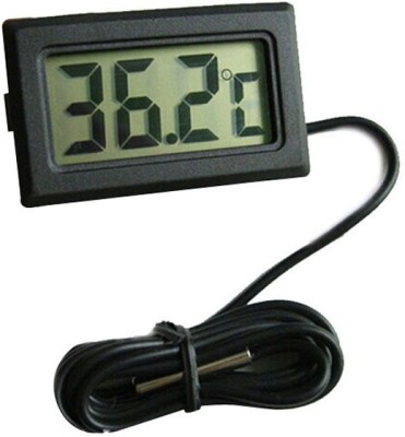 Safeseed Mini Digital Thermometer(Black)