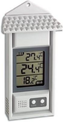 MCP TH-035 Digital Maxima Minima Room Hygrometer with Probe Thermometer(White)