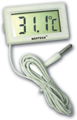 Mextech PM-10 Digital Thermometer Thermometer(White)