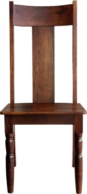 InLiving Dallas Solid Wood Dining Chair(Set of 1, Finish Color - Deep Walnut)