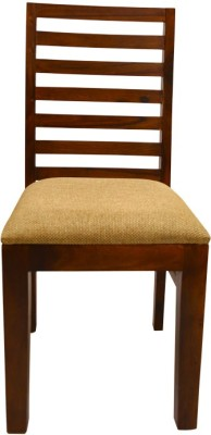 Mavi Solid Wood Dining Chair(Set of 1, Finish Color - Brown)