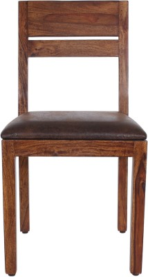 peachtree Solid Wood Dining Chair(Set of 01, Finish Color - Dark Walnut)