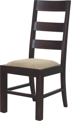 InLiving Dublin Solid Wood Dining Chair(Set of 1, Finish Color - Dark Brown)