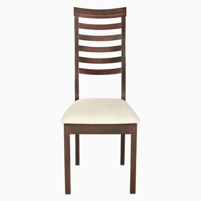 Godrej Interio JESSICA DIN CHAIR IND MAHOGAN1 Solid Wood Dining Chair(Set of 2, Finish Color - Indian Mahogany)