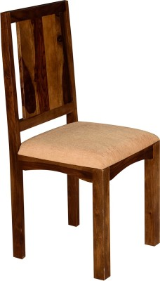 Handiana Solid Wood Dining Chair(Set of 1, Finish Color - Brown)