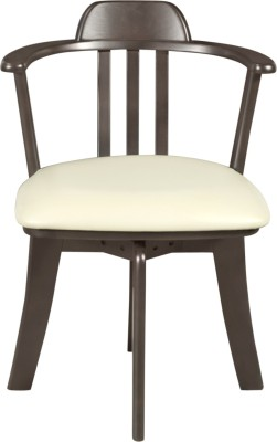 Godrej Interio ATLANTA DINING CHAIR Solid Wood Dining Chair(Set of 2, Finish Color - Dark Brown)