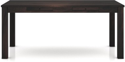 Urban Ladder Arabia XL Storage Solid Wood 6 Seater Dining Table(Finish Color - Mahogany)