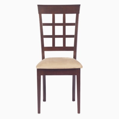 Godrej Interio LISA PLUS DINING CHAIR Solid Wood Dining Chair(Set of 2, Finish Color - Indian Mahogany)