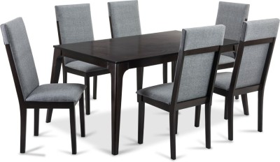 Durian NEVILLE Engineered Wood 6 Seater Dining Set(Finish Color - Cappuccino)