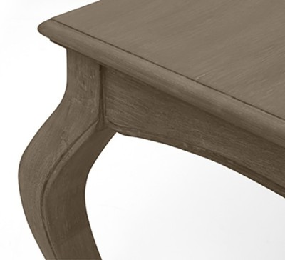 Urban Ladder Lyon Solid Wood 6 Seater Dining Table(Finish Color - Sepia Oak)