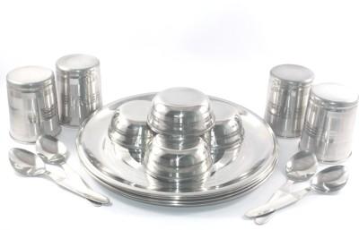 Clobber Pack of 16 Dinner Set(Stainless Steel) at flipkart