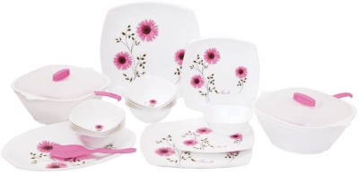Crown Craft Pack of 32 Dinner Set(Polypropylene) at flipkart